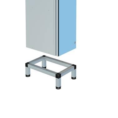Zenbox Aluminium Locker Stand, Single Unit