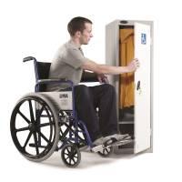 Accessible locker