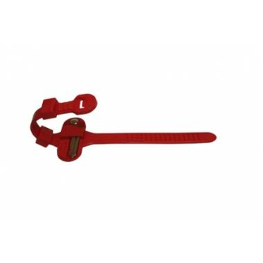 Type 2 locker wrist strap with key rivet