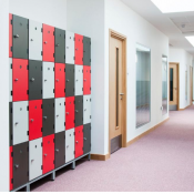 Probe Shockbox Laminate Lockers