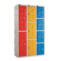 Water Resistant Plastic Lockers