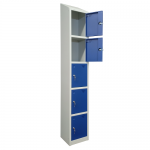 Shield Five Compartment Storage Locker - Fast Delivery