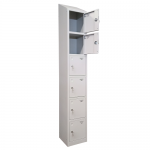 Shield Six Compartment Storage Locker - Fast Delivery