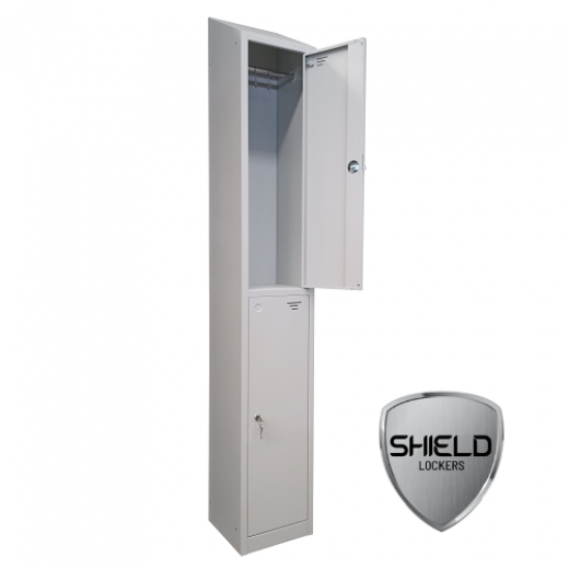 Shield Two Compartment Storage Locker - Fast Delivery